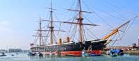 HMS Warrior, Portsmouth Harbour