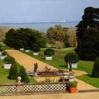 Manicured gardens of Osborne House