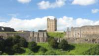 Richmond castle from Holly Hill |  <i>John Millen</i>