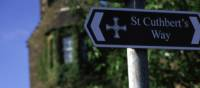 Sign marking the route