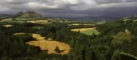 Looking towards the Eldon Hills near Melrose