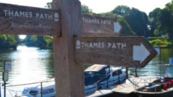 Thames Path signs | John Millen