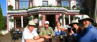 A well earned drink at 'Fiddlers' Pub Drumnadrochit