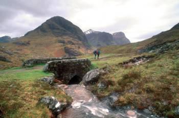 On the West Highland Way&#160;-&#160;<i>Photo:&#160;Unknown</i>