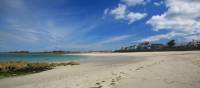 Beautiful sands at Cobo Bay, Guernsey | John Millen