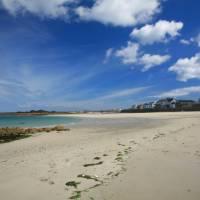 Beautiful sands at Cobo Bay, Guernsey   John Millen