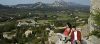 Alpilles mountains in Southern France