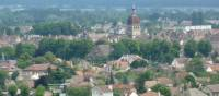 View over the town of Beaune