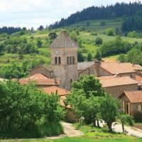 The quaint town of Nozières