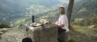 Picnic break above St Martin de Valamas | Keith Starr