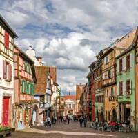The charming town of Turckheim   Charles Hawes
