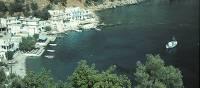 Coastal town of Loutro, Crete
