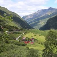 Flam Valley, overlooking Berekvam   John Millen