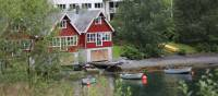 Heimly Pension and boathouses, Flam | John Millen