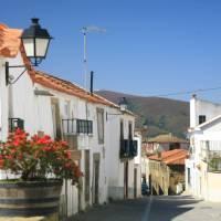 The beautiful village of Provesende