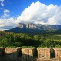 Ainsa Fortifications, Alto Aragon region in Spain