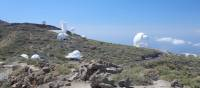 The International telescopes near Muchachos, Caldera del Taburiente | John Millen