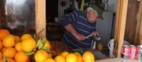 squeezing orange juice above Puerto Soller. | John Millen