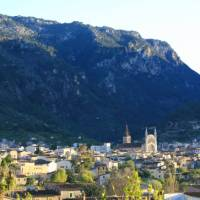 The city of Soller underneath the Tramontana mountains | John Millen