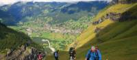 The ascent above Gindelwald will prove to be very rewarding in terms of views