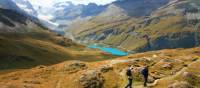 Descending from Col de Torrent on the Alpine Pass Route in Switzerland | John Millen