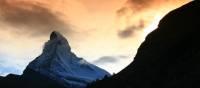 Matterhorn in brown