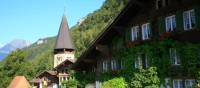 The cosy streets of Meiringen town