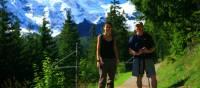 Walking in the Alps | Murren, Switzerland