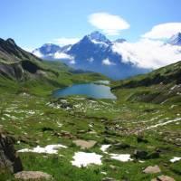 Overlooking the Bachsee Alps   Jon Millen