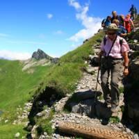 Descending from the Faulhorn   Jon Millen