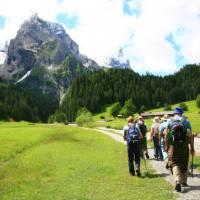 Walking towards Wellhorn Mountain   Jon Millen