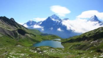 Overlooking the Bachsee Alps | Jon Millen
