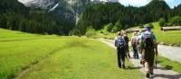 Walking towards Wellhorn Mountain | Jon Millen