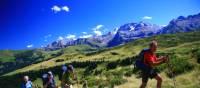 Heading to the Trutlisberg Pass