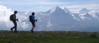 Get rewarded with stunning views when walking on the Shynige Platte
